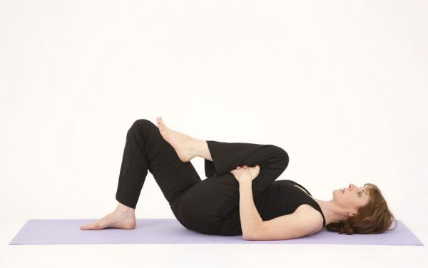 Knee to Chest Back Exercise